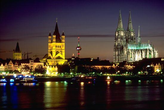 Plaza de SVE en Köln (Alemania)