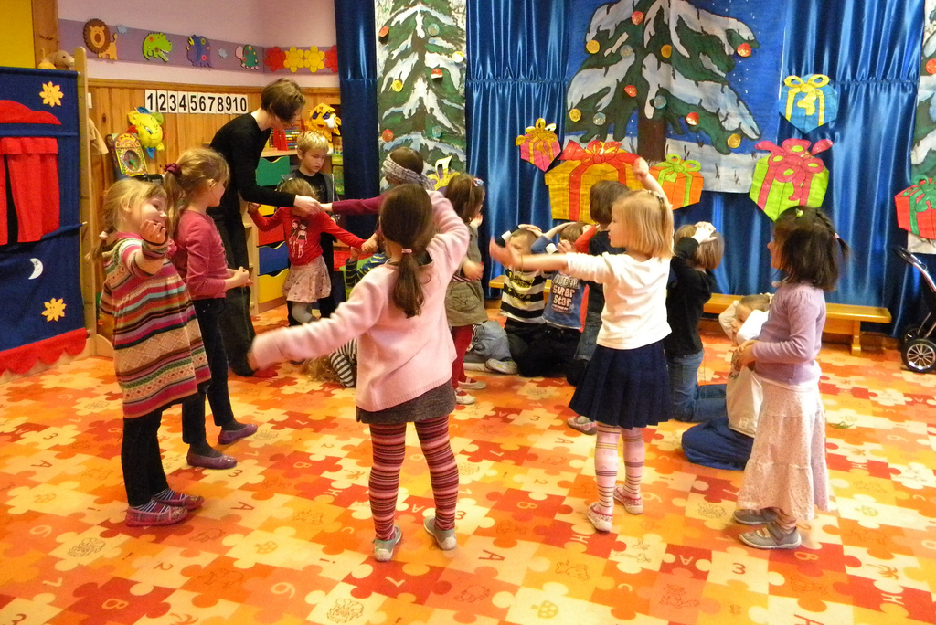 SVE plaza en jardin de la infancia en Polonia