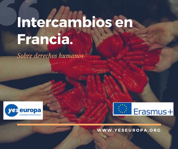 Intercambios en Francia sobre derechos humanos