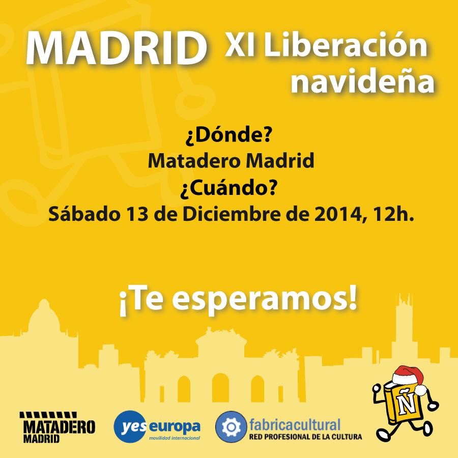 Matadero Madrid y YesEuropa liberaron más de 300 libros