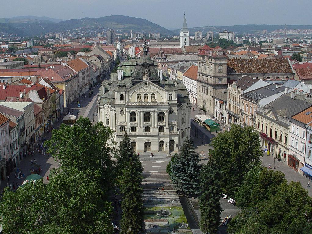 plaza de SVE en centro cultural en Eslovaquia
