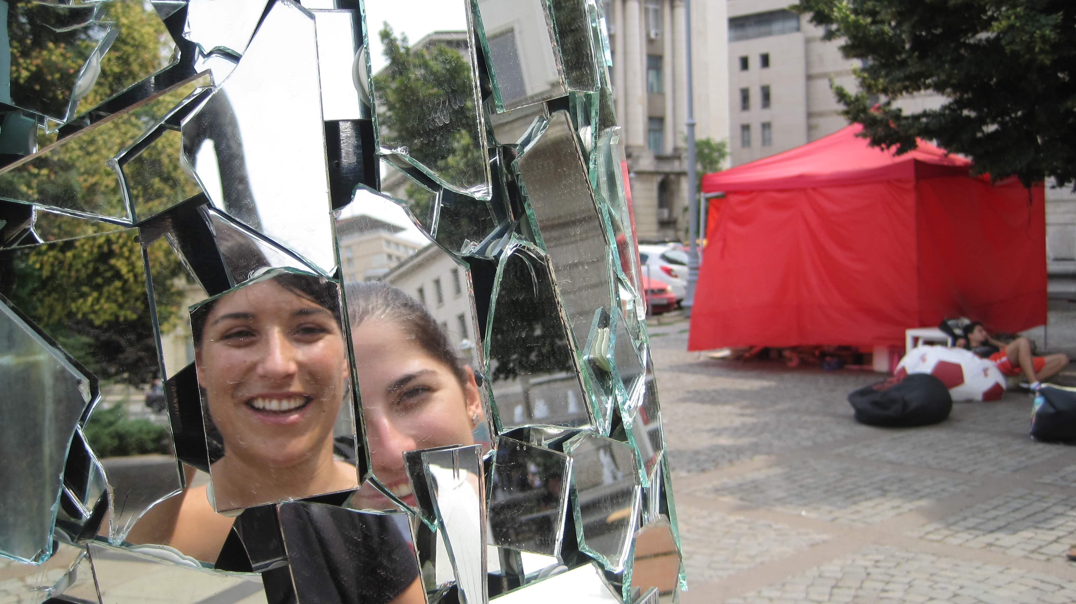 Una trabajadora juvenil en Rumanía con Erasmus+