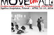 2 becas Erasmus+ para curso en Polonia sobre danza y kinestesia