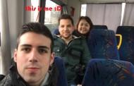 Andrés de Burgos como voluntario europeo en Hungría olvidando su español