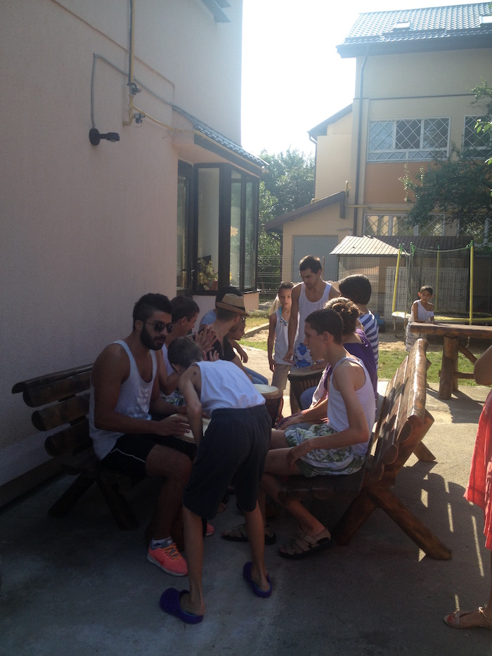 voluntariado con niños rumania