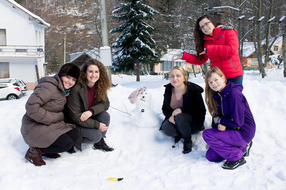 Belén en voluntariado de corta duración en Bulgaria