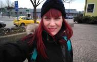 Carmen adaptándose a su experiencia voluntaria en Suecia
