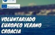 3 plazas voluntariado europeo verano en Croacia