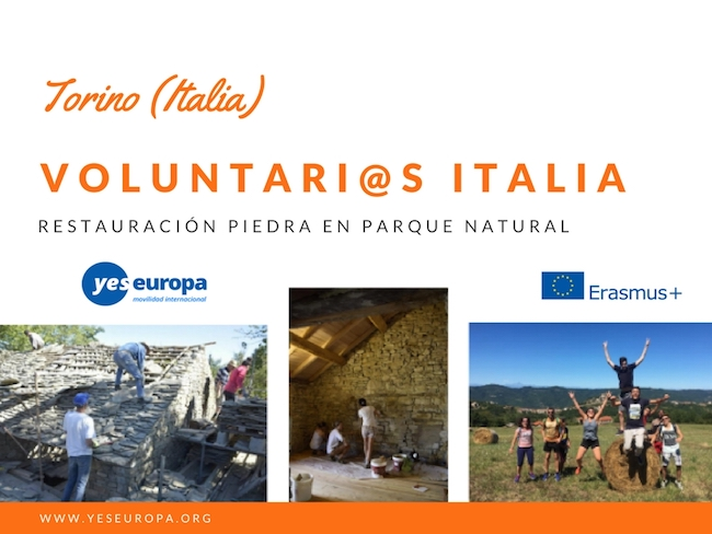voluntarios italia parque natural