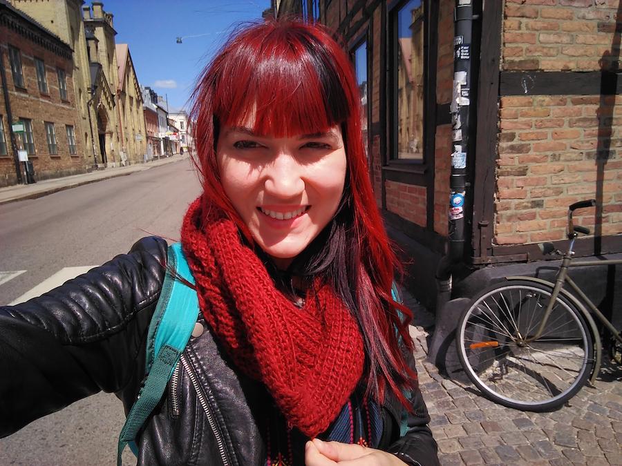 Carmen voluntaria europea en Lund