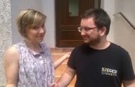 Manuela, voluntaria europea en Eslovaquia en proyecto de comunicación social