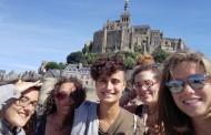Noelia en voluntariado europeo en Francia