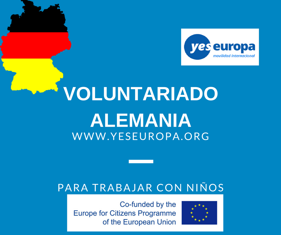 Voluntariado Alemania para trabajar con niños