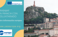 Voluntarios en Francia en centro información europeo