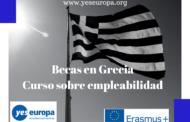 Becas en Grecia para curso en octubre