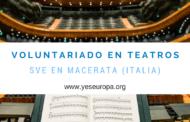 Se necesitan voluntarios en teatro de Italia