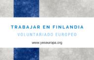 Trabajar en Finlandia como voluntario/a europea