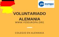 Voluntariado niños en un colegio de Alemania