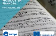 6 becas para musicos en Francia con Erasmus+