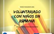 Voluntariado con niños en Marasesti (Rumanía)