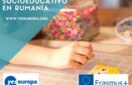 Voluntariado socioeducativo en Rumanía con niños desfavorecidos