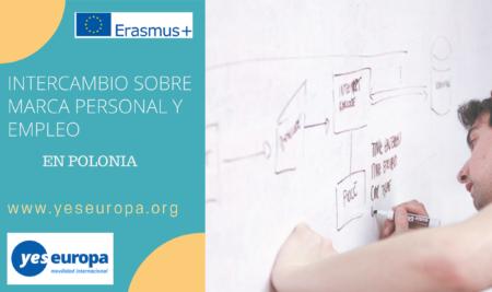 Intercambio en Polonia sobre marca personal y empleo