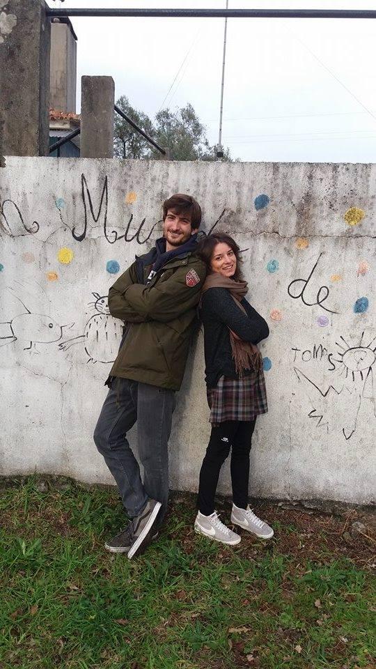 Ángel, en proyecto voluntarios Portugal (y surfista todas las mañanas)