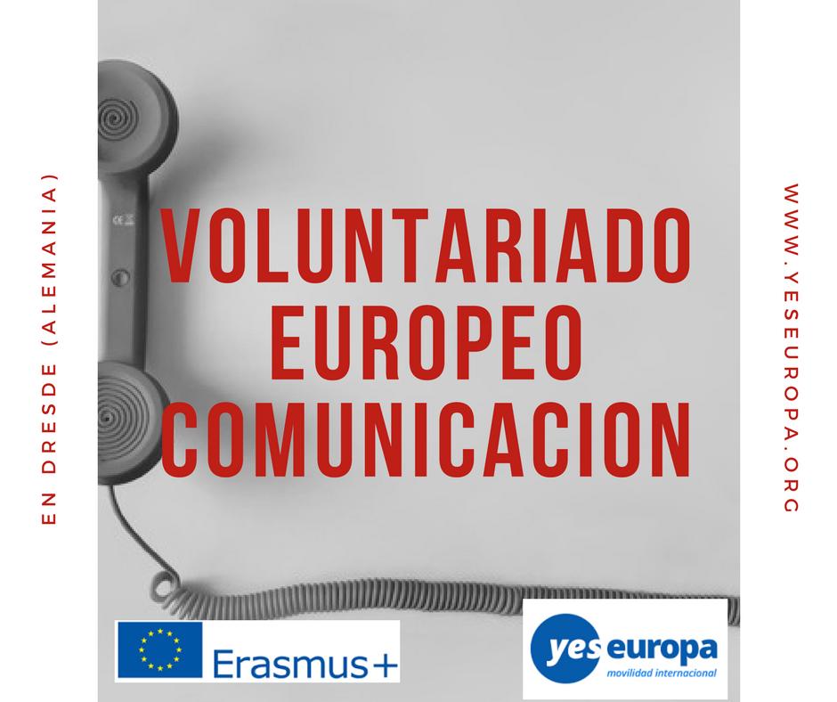 servicio voluntario europeo comunicacion
