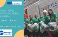 Voluntarios Caritas en Sofía, Bulgaria