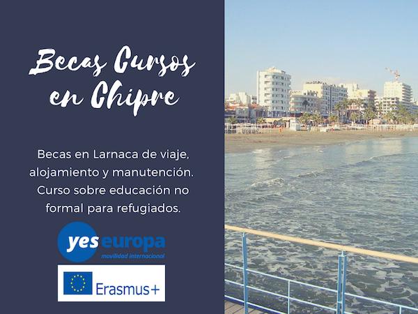 Becas Chipre para curso de educación con refugiados
