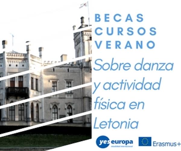 Cursos verano danza en Letonia con becas Erasmus+