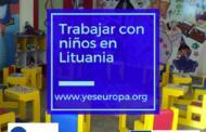 Trabajar con niños en Lituania con el SVE