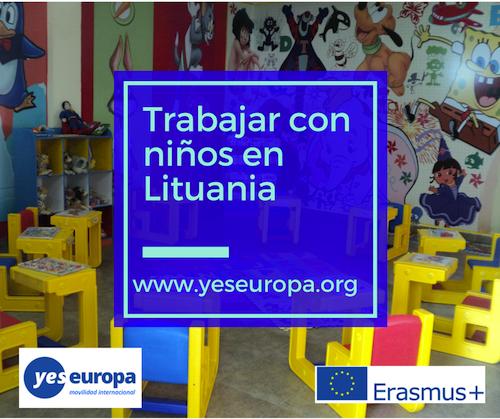 trabajar con niños en Lituania