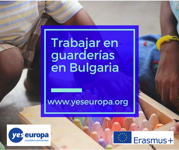 Trabajar en guarderías de Bulgaria como voluntario/a
