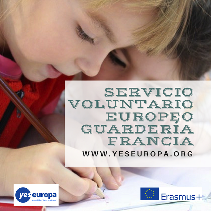 voluntariado europeo guarderia