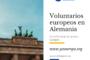 Voluntarios Alemania en varios proyectos educativos en escuelas
