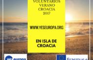 Voluntarios verano Croacia para trabajos de conservación de isla