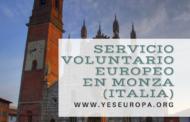 Voluntarios Italia en Monza para trabajar con niños y adolescentes