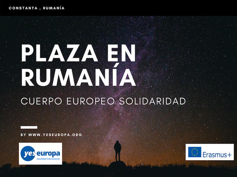 Cuerpo Europeo Solidaridad en Rumania