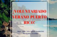Voluntariado verano en Puerto Rico ¡Oportunidad!
