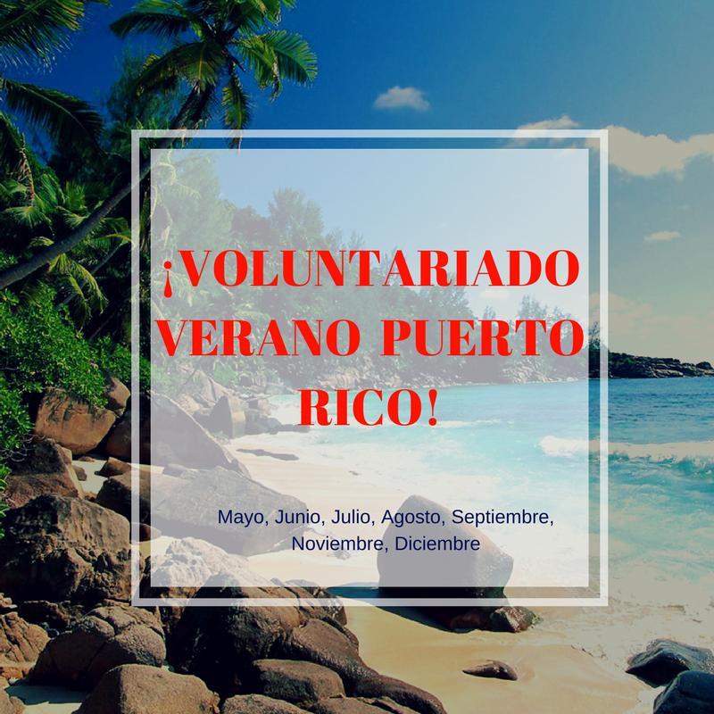 Voluntariado Puerto Rico