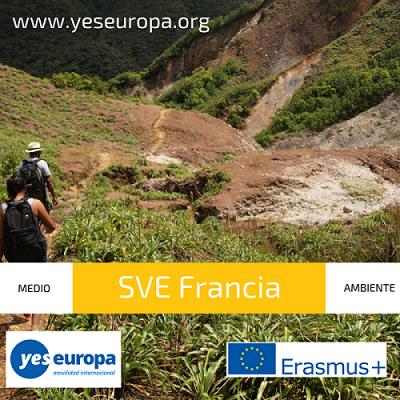 Servicio Voluntario Europeo de medioambiente en Francia
