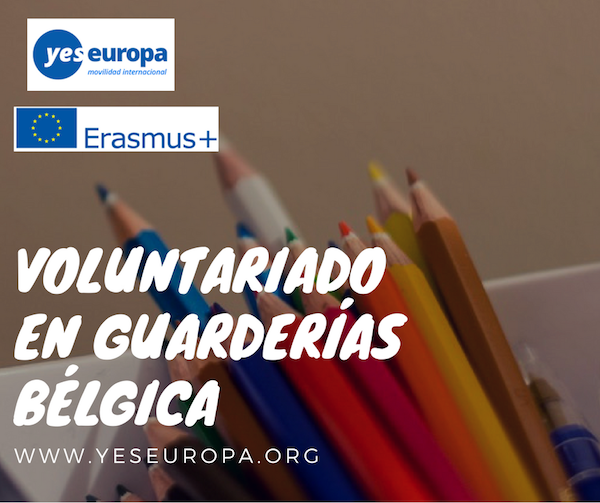 VOLUNTARIADO GUARDERIAS BELGICA