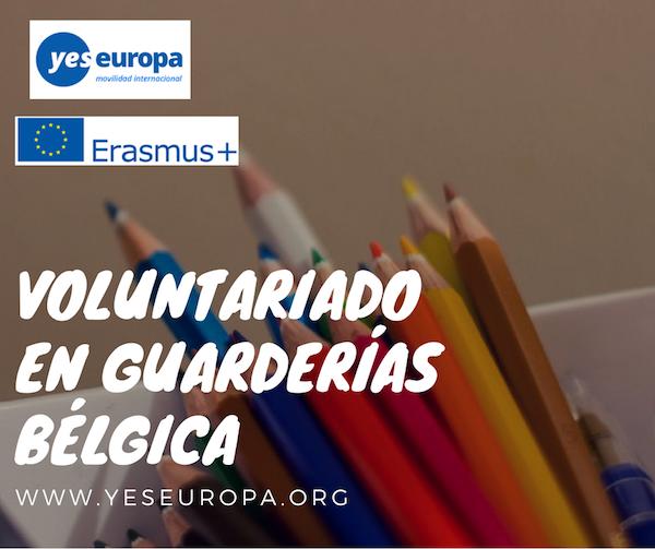 VOLUNTARIADO GUARDERIAS BELGICA