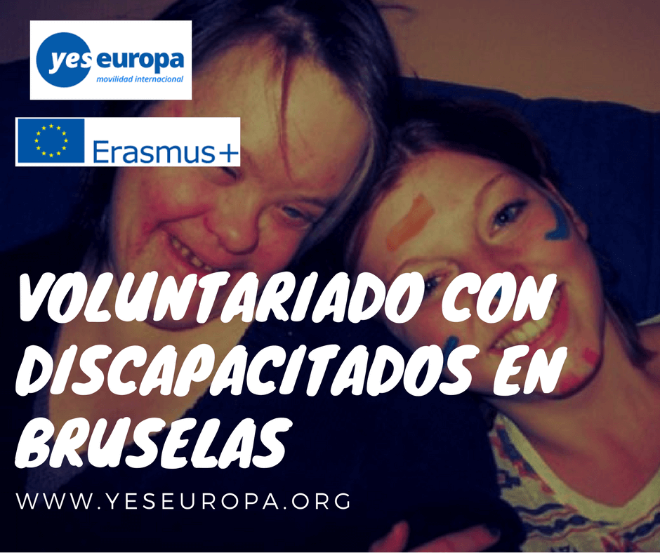 Voluntariado con discapacitados en Bruselas