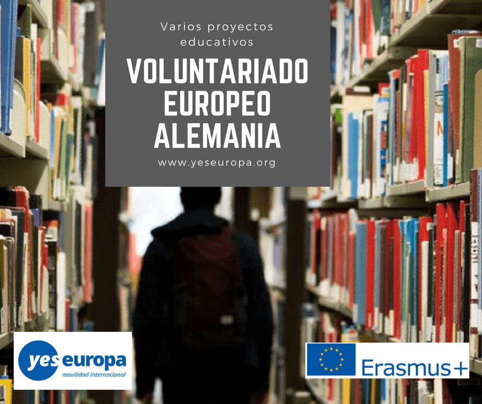 VoLUNTARIADO ONG EUROPEO-ALEMANIA-educacion