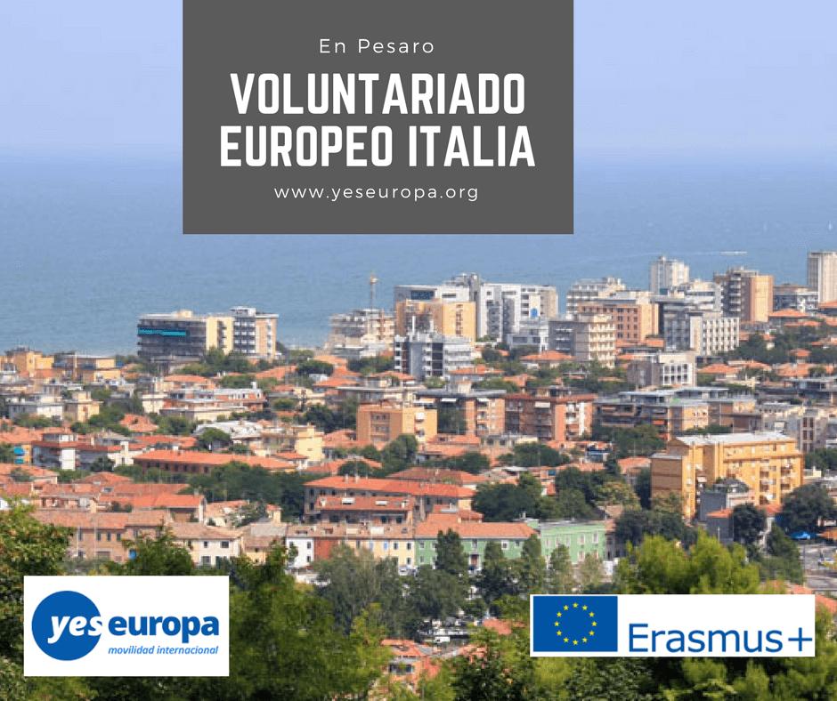 Voluntariado europeo en Italia en Pesaro