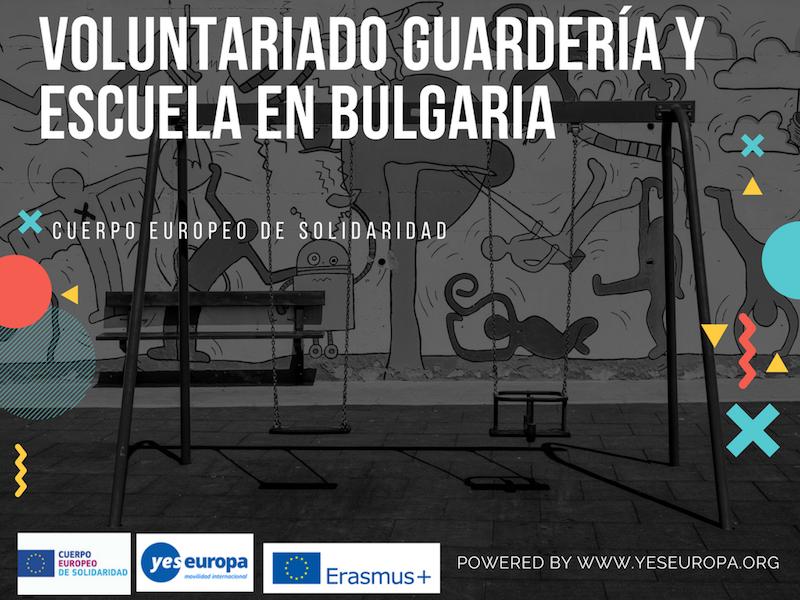 cuerpo europeo solidaridad Bulgaria