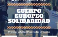 Cuerpo Europeo Solidaridad: YesEuropa envía a más de 60 voluntari@s de España