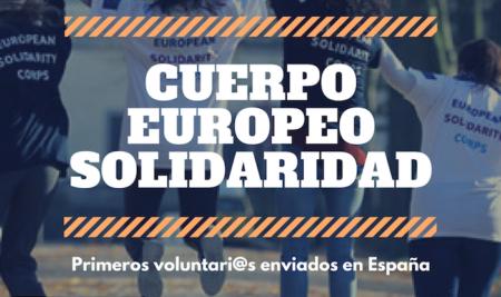 Cuerpo Europeo Solidaridad: enviamos 100 voluntari@s